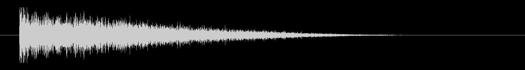 レーザー音-145-3の未再生の波形