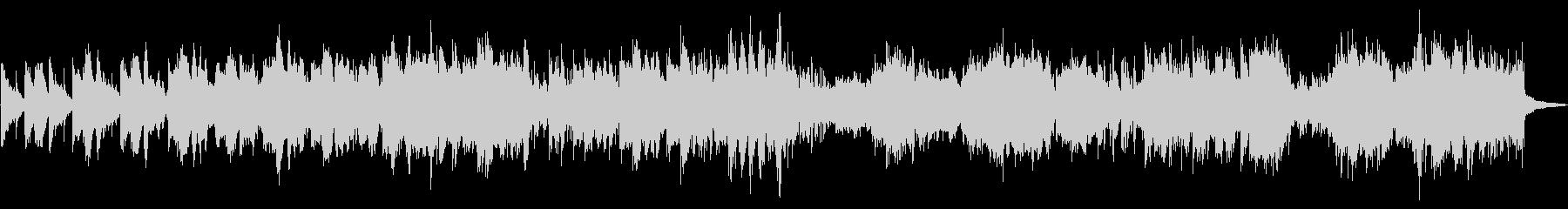 民族楽器の訛ったリズムが印象的なバラードの未再生の波形