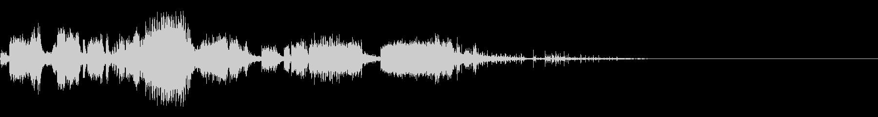 スパーク音-33の未再生の波形
