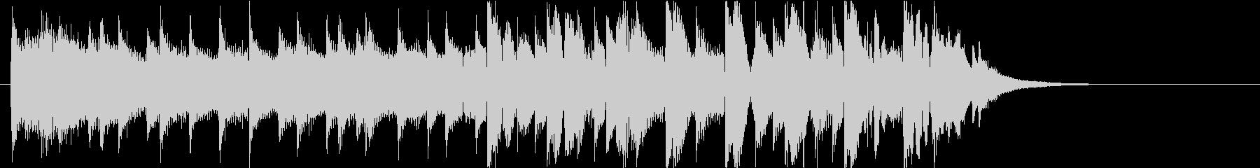 【ジングル】EDM・さわやか・後半ビートの未再生の波形
