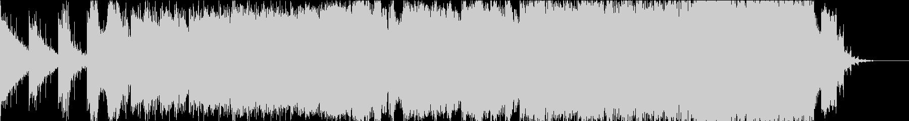 エピック ヴォーカライズとバイオリンの未再生の波形