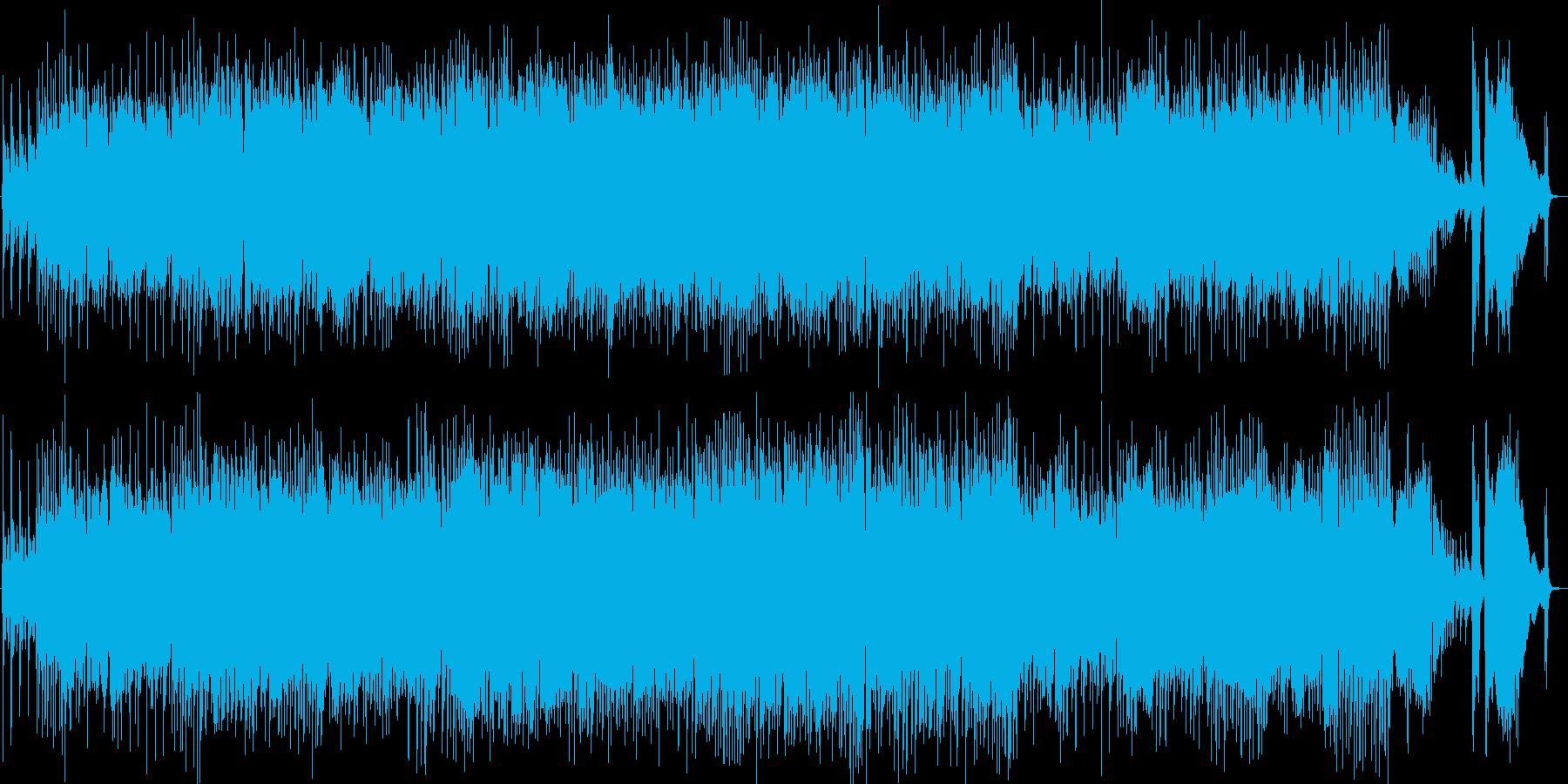 ショパン、ノクターン第2番、ジャズトリオの再生済みの波形
