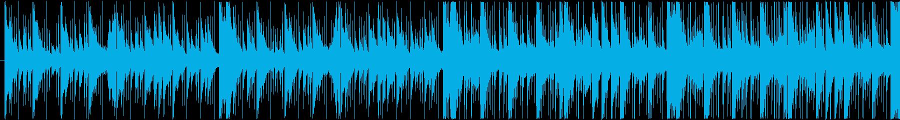 神秘的な和風アンビエント(ループA)の再生済みの波形