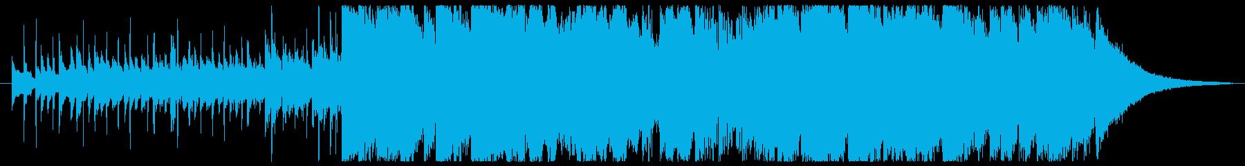 尺八フルートのモダンなサウンドの再生済みの波形
