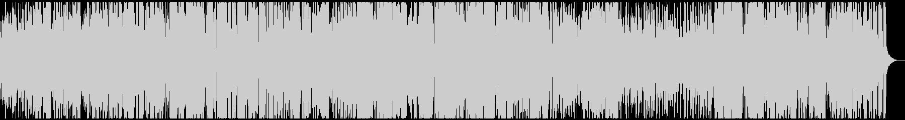 陽気なトランペットのアップテンポジャズの未再生の波形