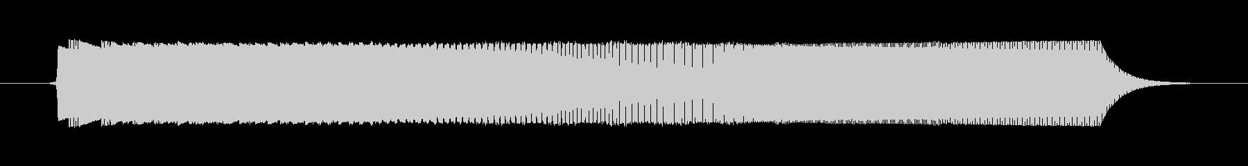 ゲームの決定音(1)ですの未再生の波形