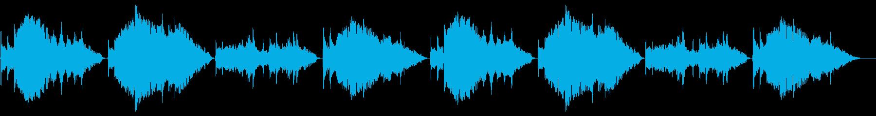 荒城の月【尺八ソロ】の再生済みの波形