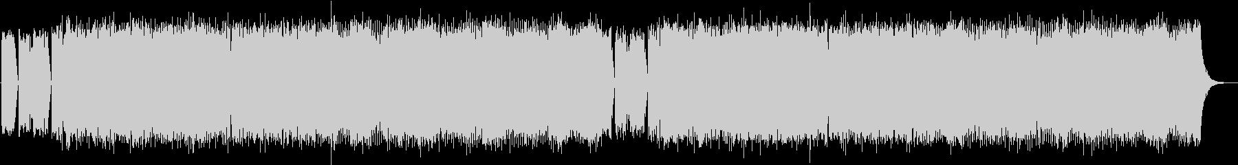 スリップノット風/重厚感メタルバンドの未再生の波形