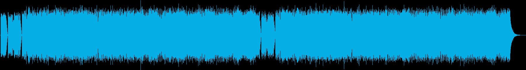 スリップノット風/重厚感メタルバンドの再生済みの波形