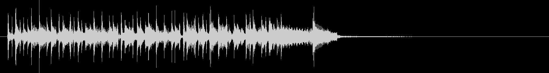 Bassスラップ風アイキャッチの未再生の波形