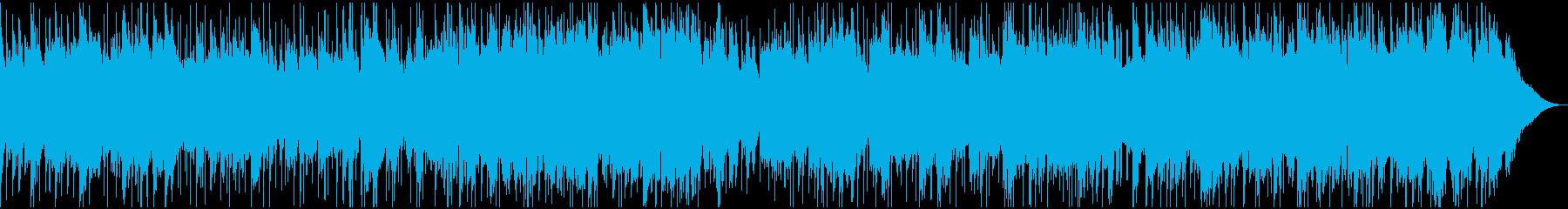 安らぎを与えるほのぼのバラード・ロックの再生済みの波形