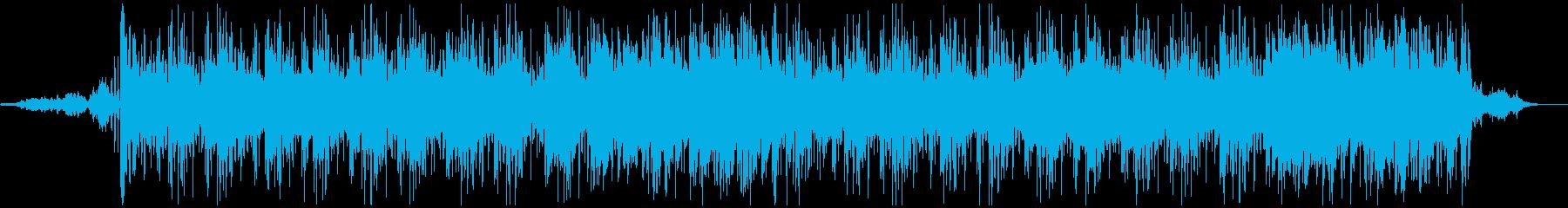 幻想的なLofi/Chill hopの再生済みの波形