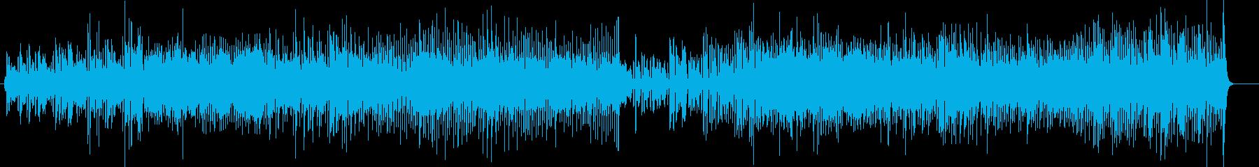 生楽器 デンマークの軽快なダンス曲ポルカの再生済みの波形