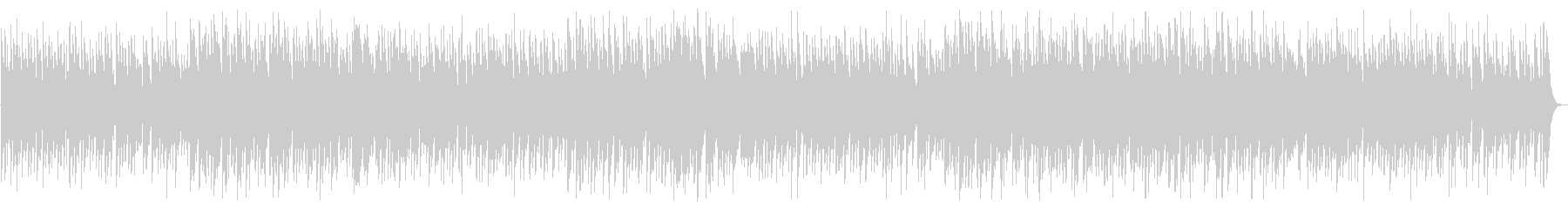 マンボから発展したチャチャチャのサウンドの未再生の波形