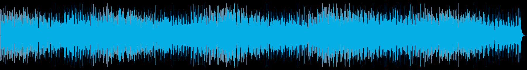 マンボから発展したチャチャチャのサウンドの再生済みの波形