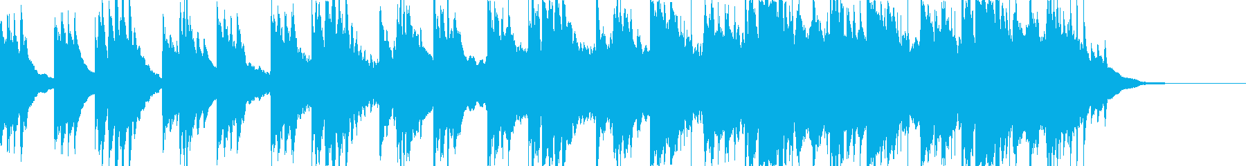 優しくて美しい映像映えする和風音楽BGMの再生済みの波形