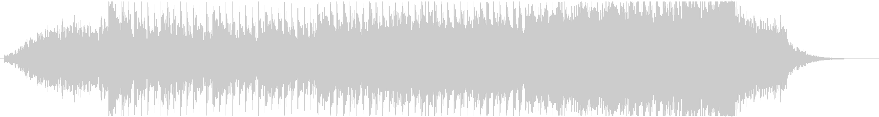 シンセサイザーやサックスを使用した暗い曲の未再生の波形