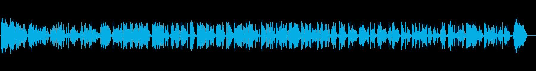 テレビ;音楽と女性のニュースレポー...の再生済みの波形