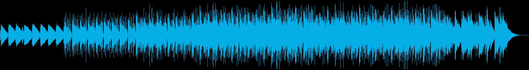 メロウな雰囲気のローファイヒップホップの再生済みの波形