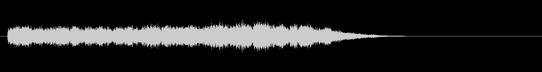 テーマ8:ピアノの未再生の波形