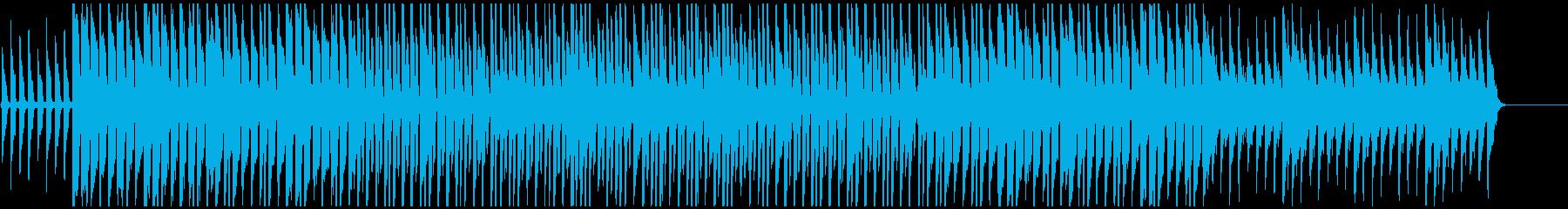 和やかな雰囲気のポップスの再生済みの波形