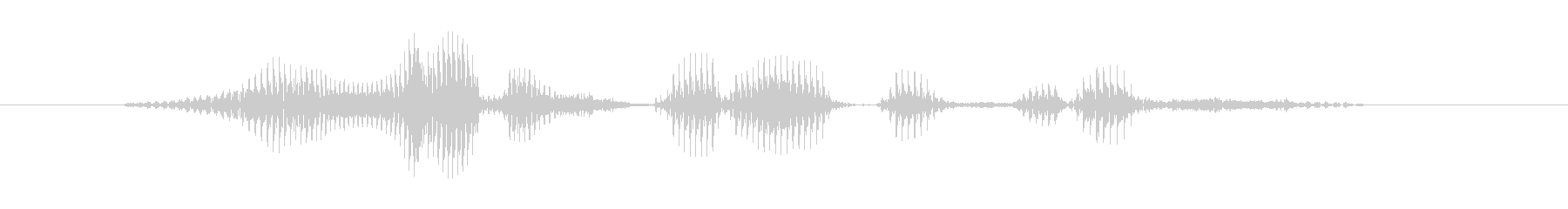 ロイヤルストレートフラッシュの未再生の波形