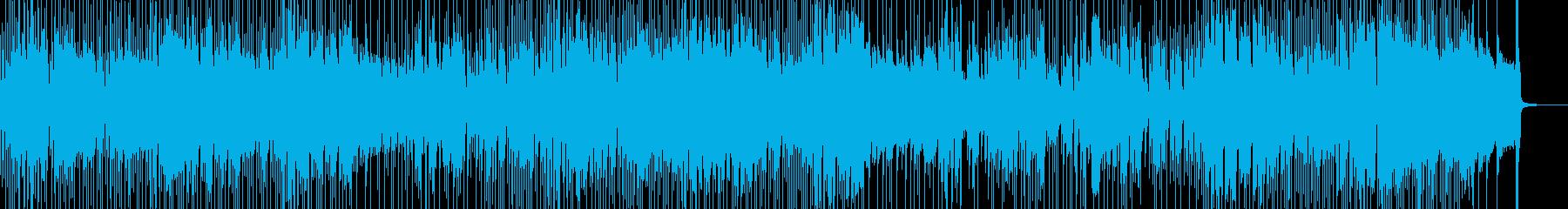 三味線・軽快&天晴れなジャズポップ 長尺の再生済みの波形