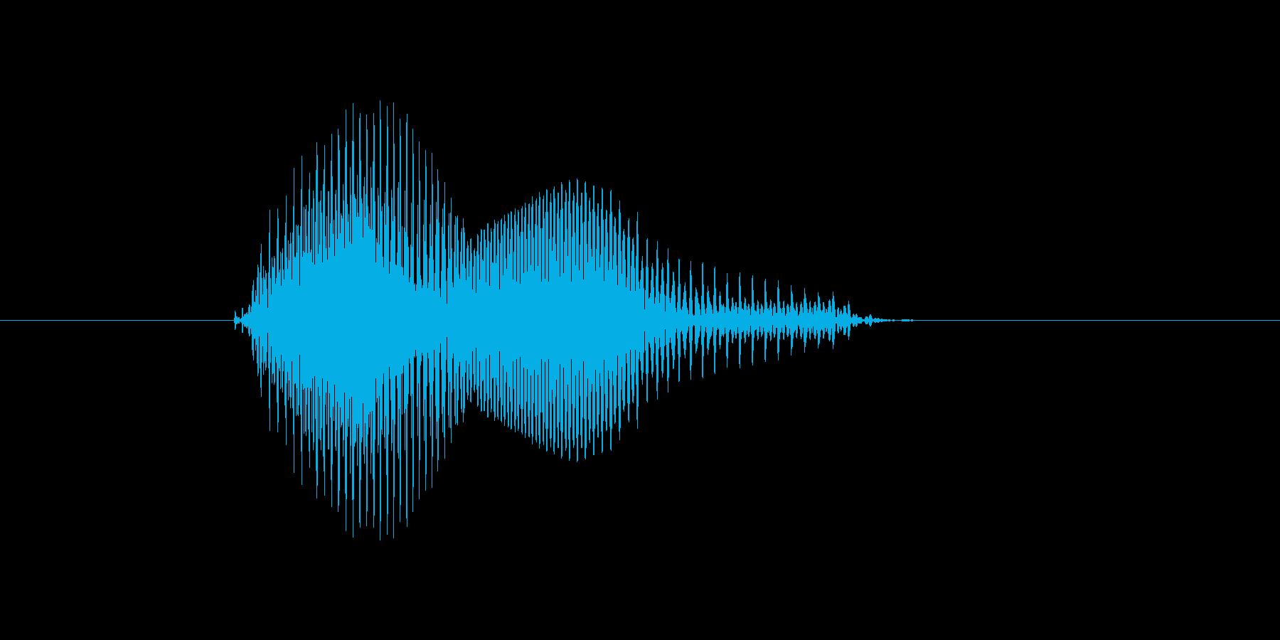 n,N,N(エヌ)の再生済みの波形