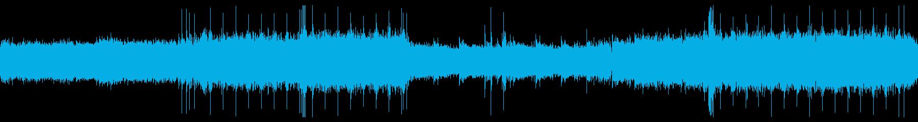 工場BGMの再生済みの波形
