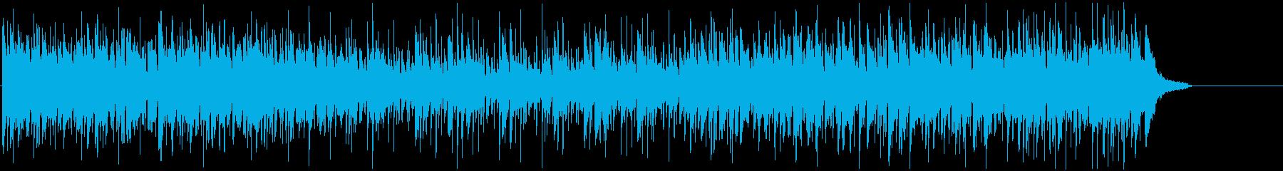 ボサノバ おしゃれ ティータイムの再生済みの波形