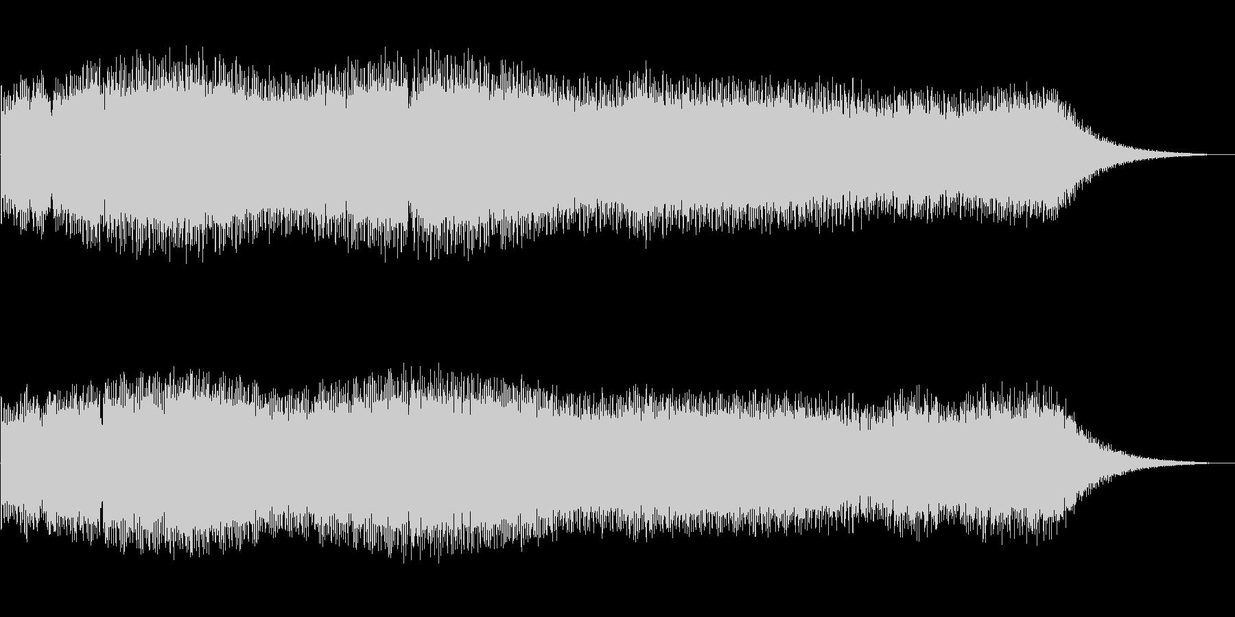 シンセサイザー電子音_FM_FX_宇宙の未再生の波形