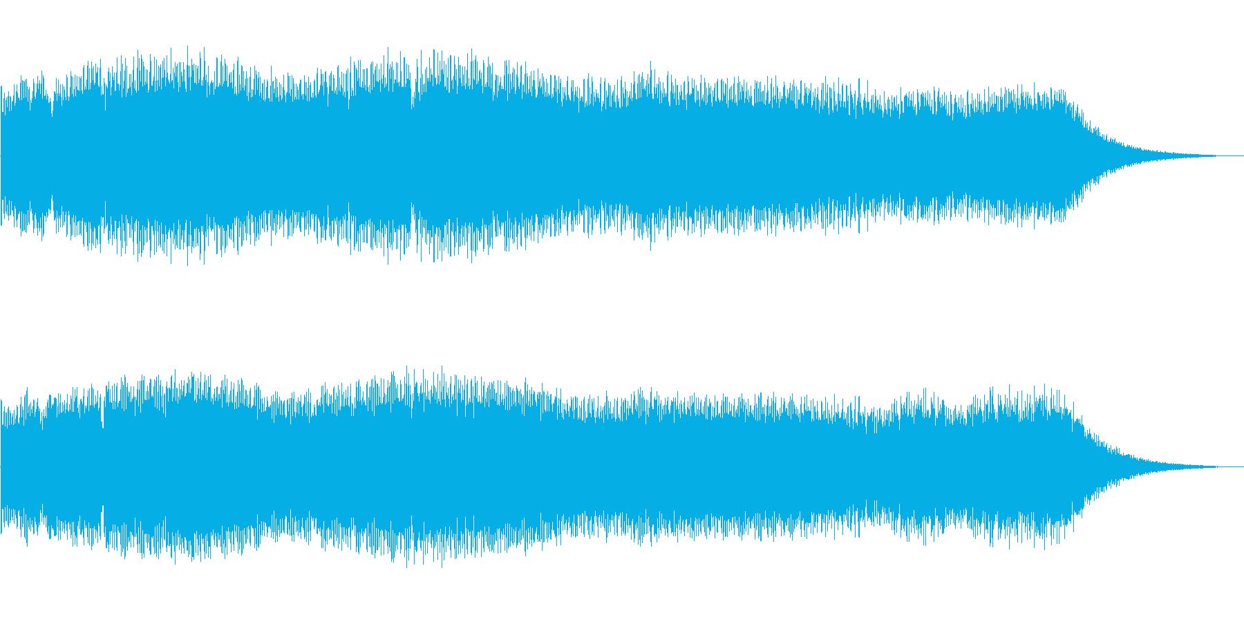 シンセサイザー電子音_FM_FX_宇宙の再生済みの波形