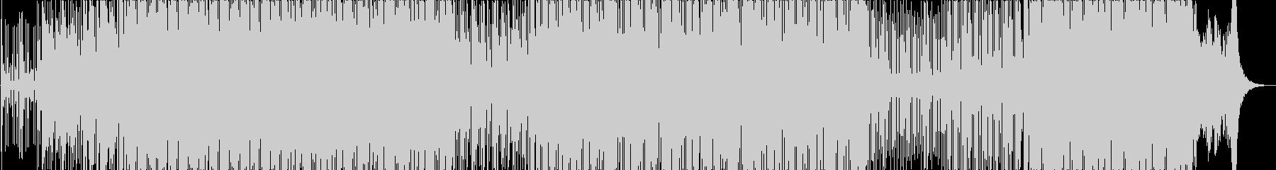 60〜70年代映画音楽風フレンチポップの未再生の波形