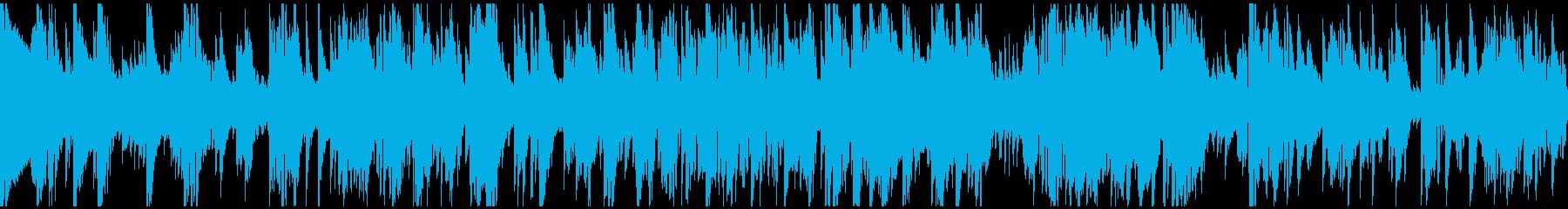 ムーディーなサックスバラード ※ループ版の再生済みの波形