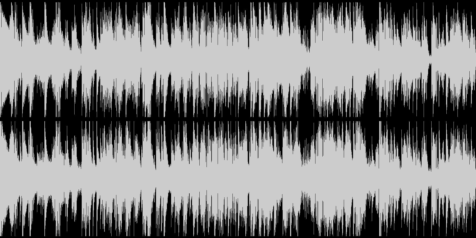 ムーディーなサックスバラード ※ループ版の未再生の波形