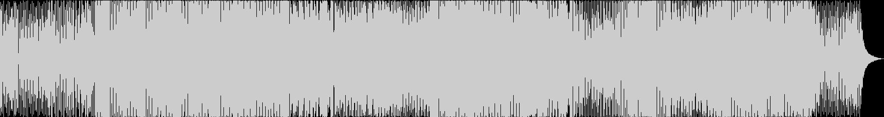 リズムと線形の伝統的なメロディーダ...の未再生の波形