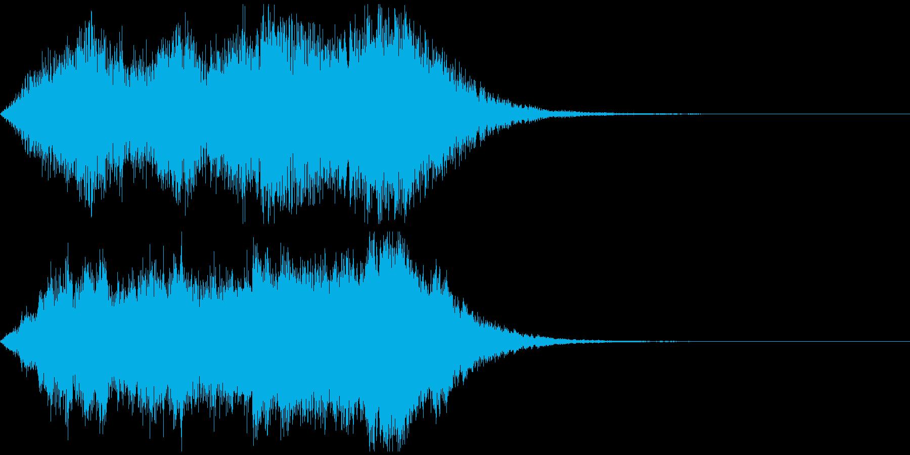 【ジングル】緊迫感のあるストリングスの再生済みの波形
