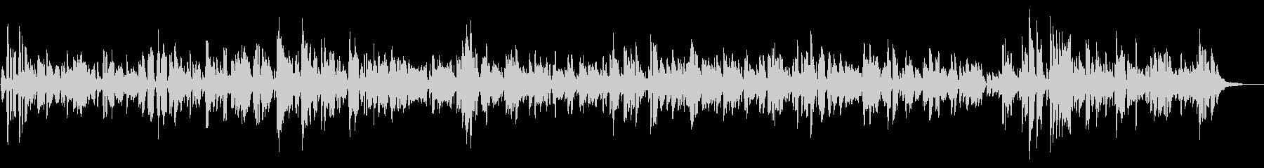 JAZZ|カフェで流れるオシャレなジャズの未再生の波形