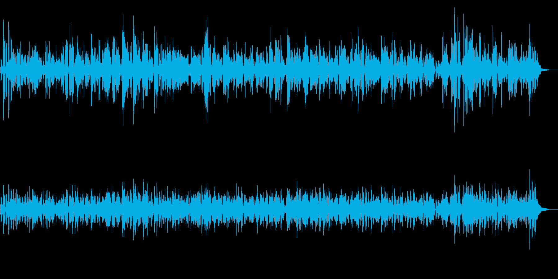 JAZZ|カフェで流れるオシャレなジャズの再生済みの波形