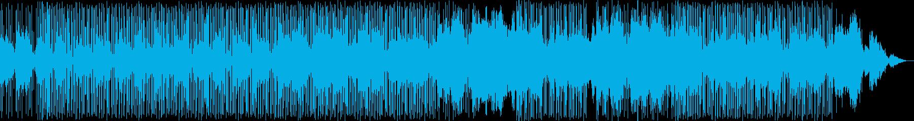 幻想的な雰囲気のbreakbeats の再生済みの波形