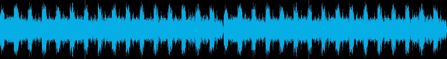 爽やかなシンプルで短いEDMサウンドの再生済みの波形