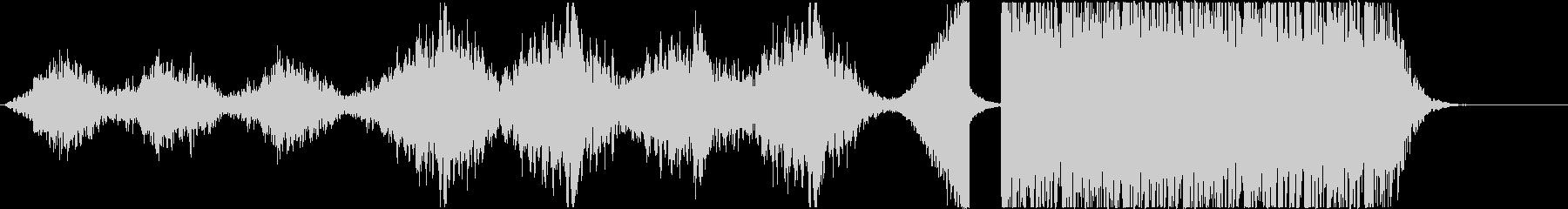 古いホラー風~打楽器◆予告編/トレーラーの未再生の波形