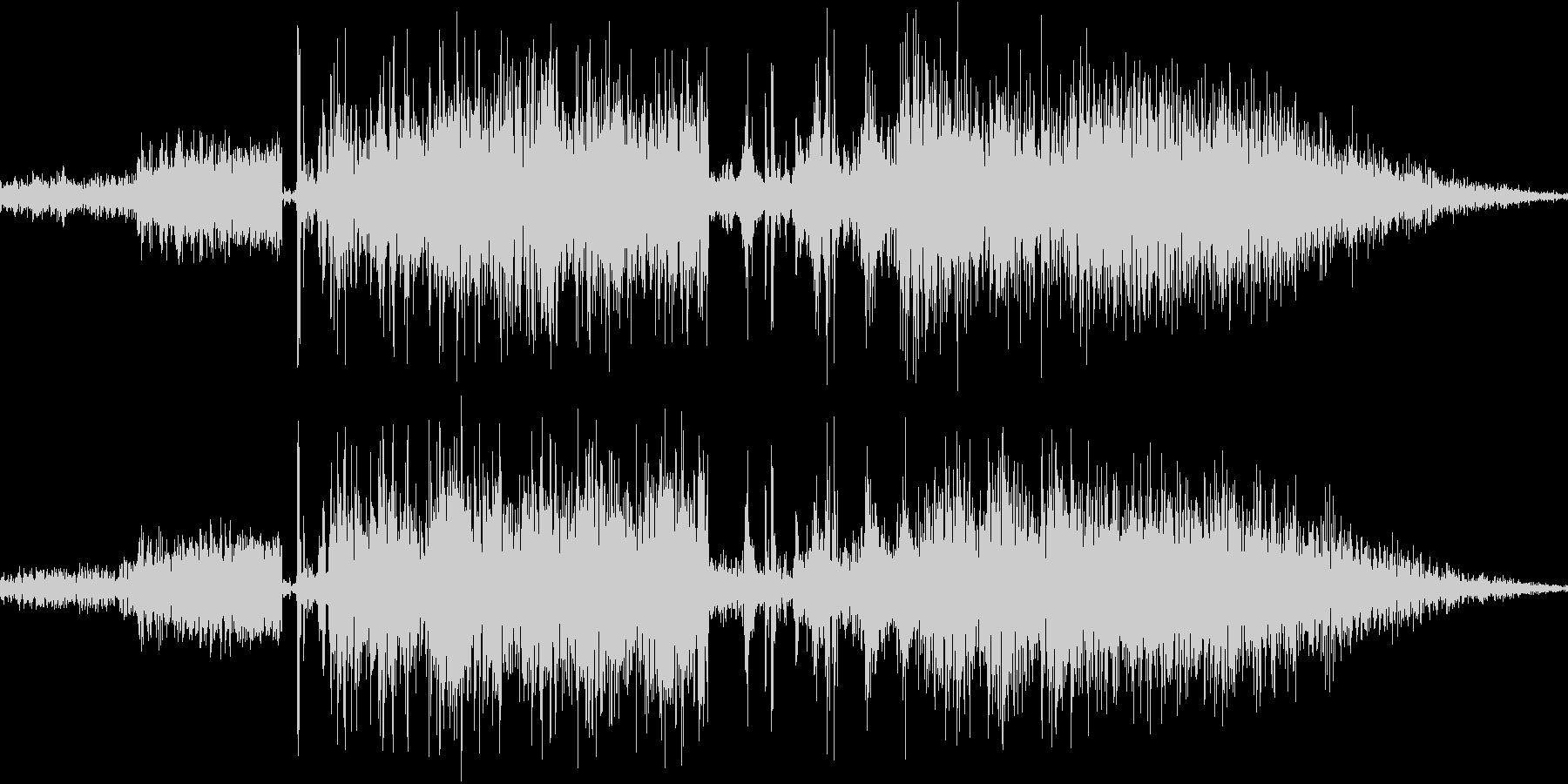 鞭で攻撃(ビシビシと2回連続)の未再生の波形