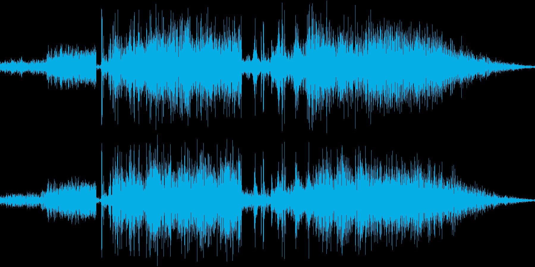 鞭で攻撃(ビシビシと2回連続)の再生済みの波形