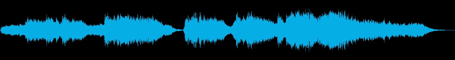 渦巻くパッドのテクスチャとインドの...の再生済みの波形