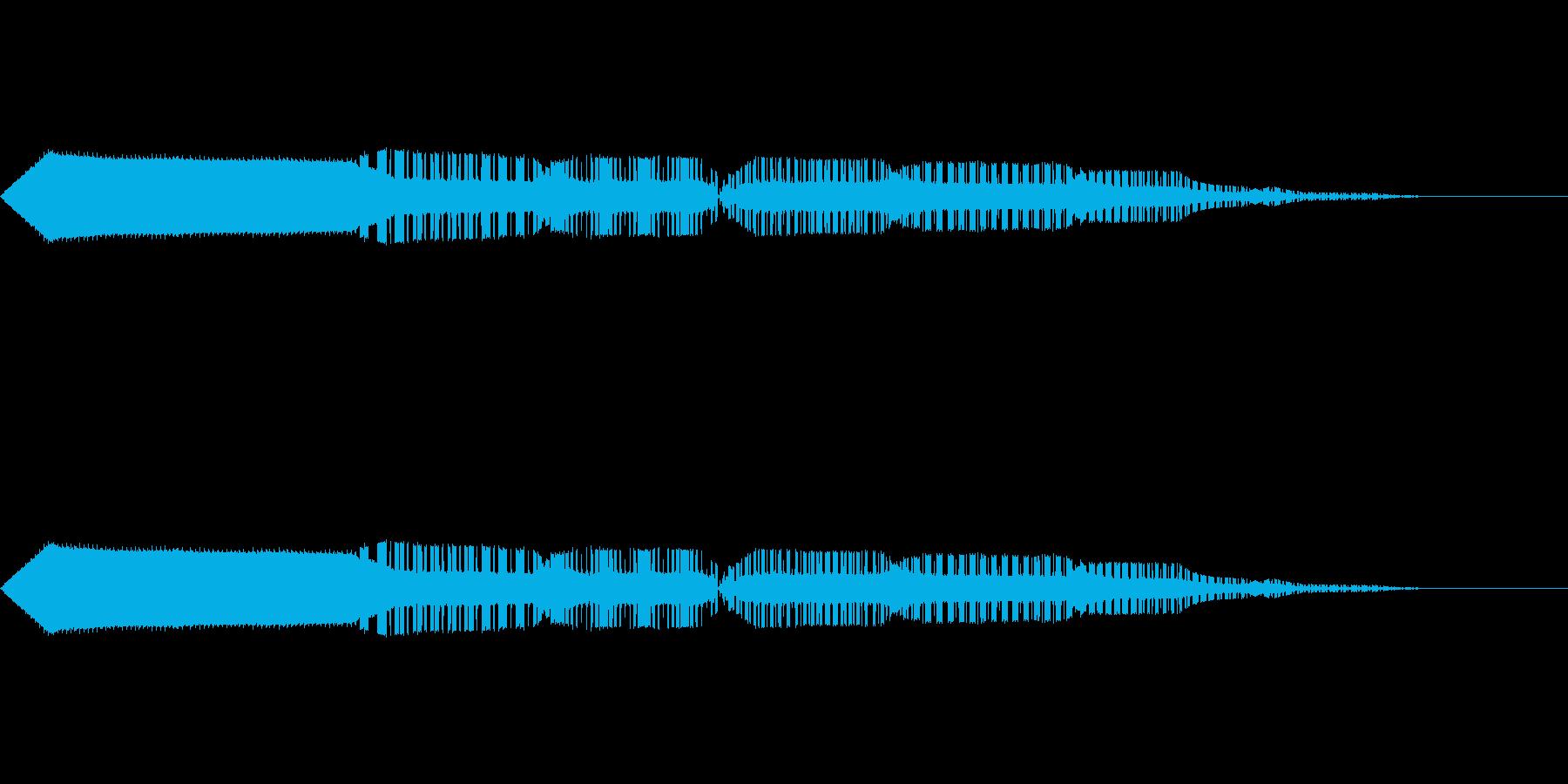 ピコッ。の再生済みの波形