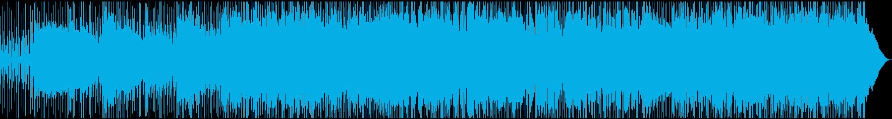 エレキとサックスが印象的なポップ・ロックの再生済みの波形
