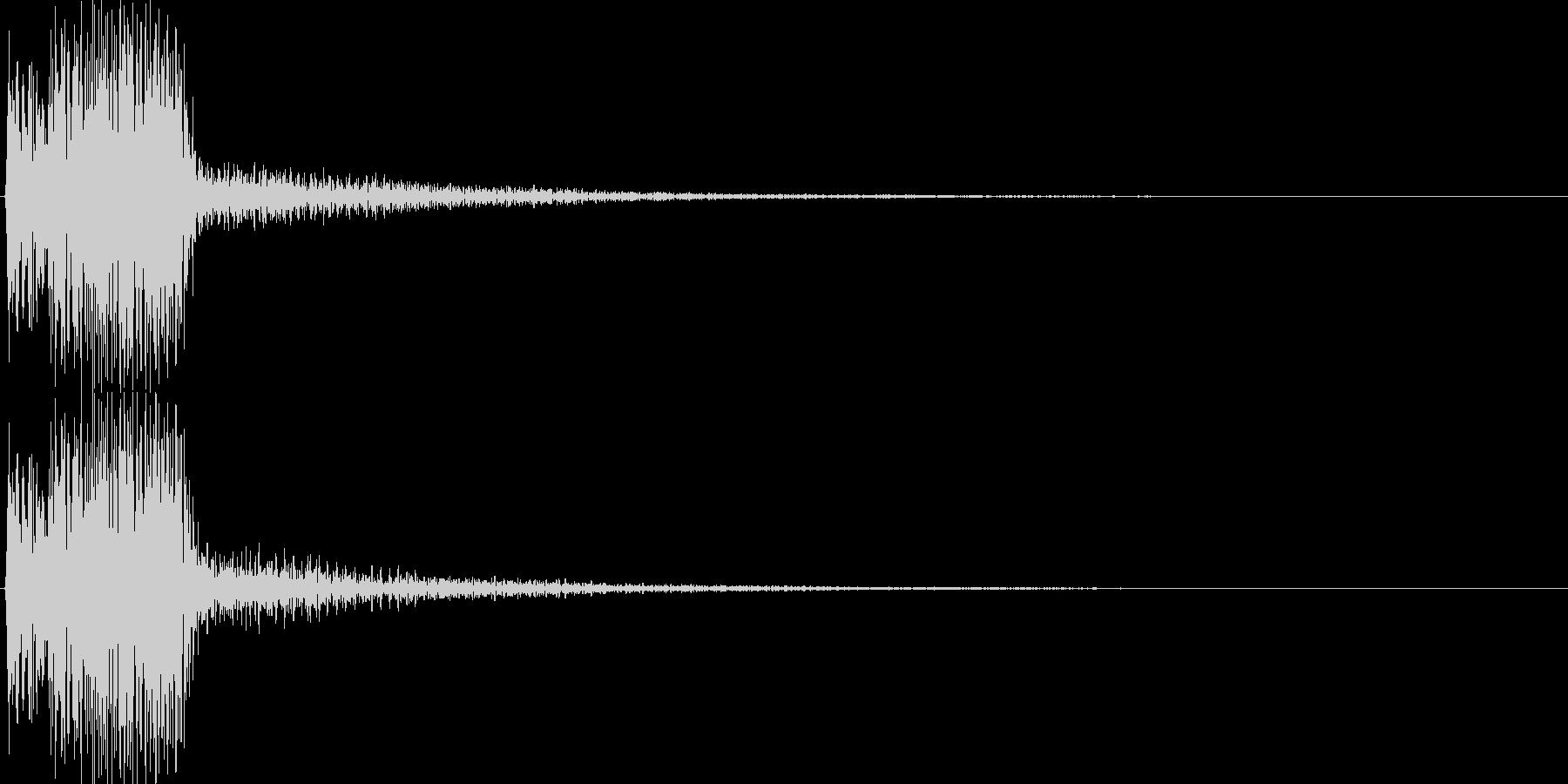 ピコ(ゲーム、アプリ等の操作決定音03)の未再生の波形