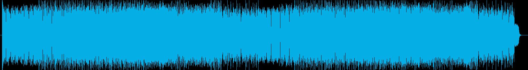 アクションゲーム等BGM(戦闘曲4)の再生済みの波形