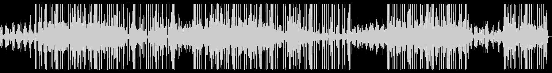 おしゃれR&B系ゆったりポップ、インストの未再生の波形
